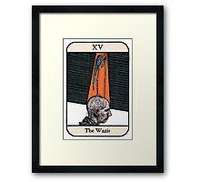 The Wazir Framed Print