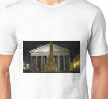 Pantheon at Night Unisex T-Shirt