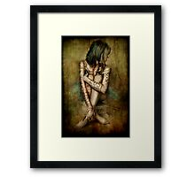 Mixed Feelings Framed Print