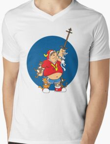 Voltrouble Mens V-Neck T-Shirt
