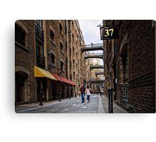 37 Shad Thames Canvas Print