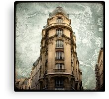 Parisian Building Canvas Print