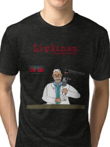 Livlinan i radions PeFyra Tri-blend T-Shirt