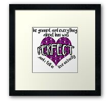 Night Vale Quote Framed Print