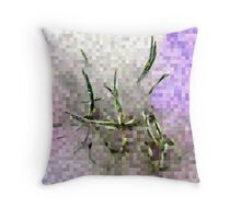 Tossed Asparagus Salad Throw Pillow