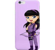 YA Chibi Hawkeye (Kate Bishop) iPhone Case/Skin