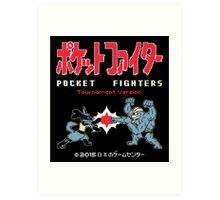 Sticker! Pocket Fighters Art Print