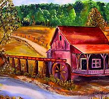 Down By The Old Mill Stream by hickerson