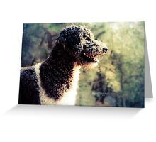 The Family Dog Greeting Card