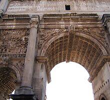 Arco di Settimio Severo by Josie Duff