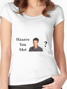 Haaave you met Ted? Women's Fitted Scoop T-Shirt