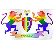 LGBTQ+ Crest Poster