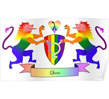 Queer Crest Poster