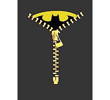 Batmen Zip Photographic Print