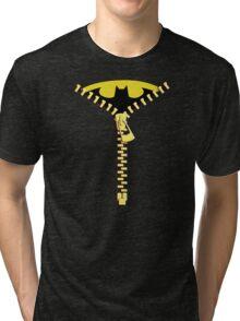 Batmen Zip Tri-blend T-Shirt