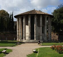 Temple of Hercules Victor by annalisa bianchetti