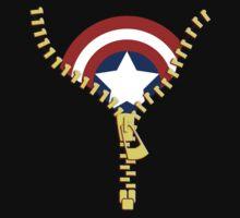Captain America zip by Ejpokst