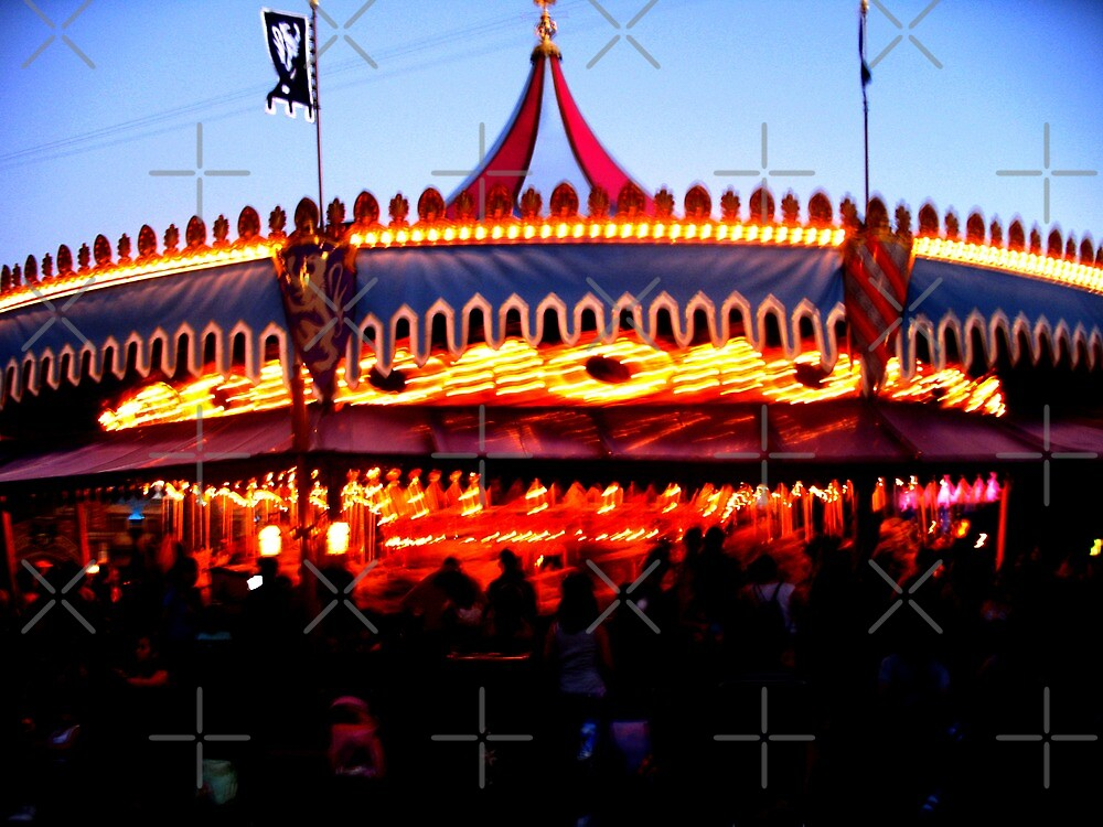carousel by emma-jane day