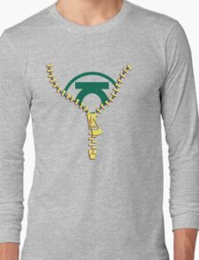 The Green Lantern zip Long Sleeve T-Shirt