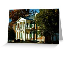 Carnton Plantation.... Greeting Card