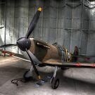 Spitfire Mk 1 by Nigel Bangert