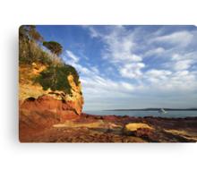 Bar Beach at Merimbula Canvas Print