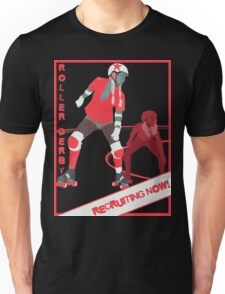 Derby Girls - Recruiting Now! Unisex T-Shirt