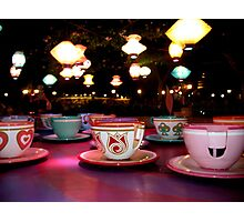 tea cups of delight Photographic Print