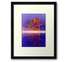 The Light Fandango Framed Print