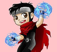 YA Chibi Wiccan (Billy Kaplan) by artsy-alice