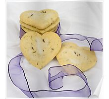 Lavender Shortbread Biscuits Poster
