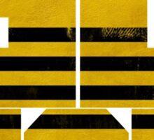 Bigbang GD & TOP 'ZUTTER' Yellow Sticker