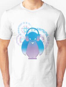 PENGUIN WITH HEADPHONE Unisex T-Shirt