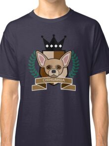 Chihuahua Coat of Arms Classic T-Shirt