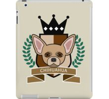 Chihuahua Coat of Arms iPad Case/Skin