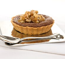 Chocolate Praline Tart by GourmetGetaways