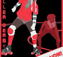 Roller Girls - Recruiting Now! by levywalk