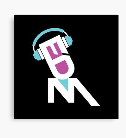 DJ EDM-dbp Canvas Print