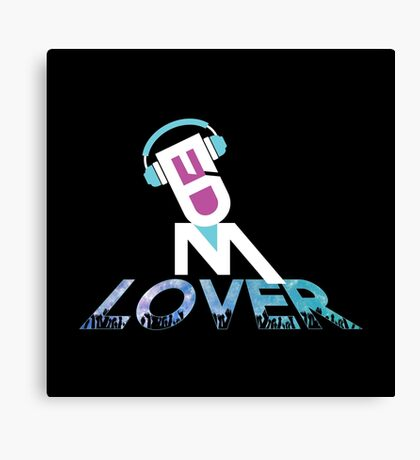 DJ EDM Lover-dbp Canvas Print