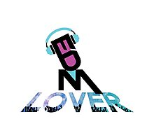 DJ EDM Lover-lbp Photographic Print
