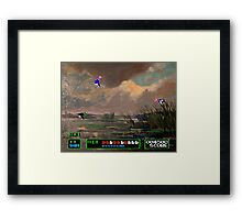 Game Painting Duck Hunt Framed Print