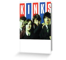 The Kinks T-Shirt Greeting Card
