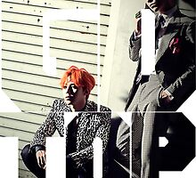Bigbang GD & TOP 'ZUTTER' Typo 2 by ikpopstore