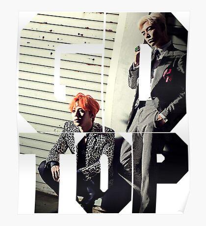 Bigbang GD & TOP 'ZUTTER' Typo 2 Poster