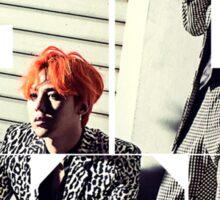 Bigbang GD & TOP 'ZUTTER' Typo 2 Sticker