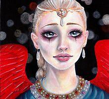 Crimson Wings by KimTurner