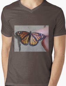 Monarch Butterfly ChangeArt II Mens V-Neck T-Shirt