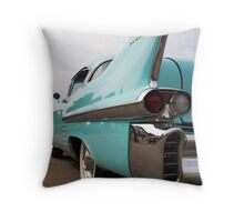 1958 Cadillac  Throw Pillow