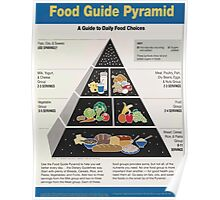 United States Department of Agriculture Poster 0019 Food Pyramid Poster