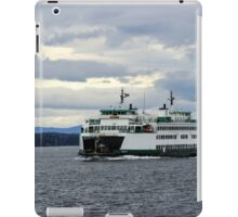 Ferry on the Puget Sound iPad Case/Skin